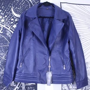 Jackets & Blazers - AC luxury collection faux leather jacket